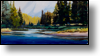 Colorado River in Grand Lake Colorado - 15x30 - Oil